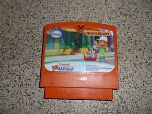 $0-Ship W/V-tech Smile Motion Games Handy Manny With 10 Contents & V.Link Able