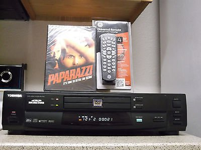 Refurbished Toshiba SD-2150 DVD Player With 1 DVD Movie & 4-1 Universal Remote