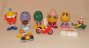 Vintage Lot McDonalds 80's Happy Meal Toys