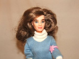 Vintage 80s  Brooke Shields Teenage Fashion Doll