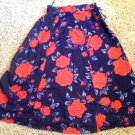 NWT Black and red skirt 8P by Worthington