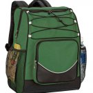 FOREST GREEN Ultimate Fishing Hiking camping 20 can no leak backpack cooler