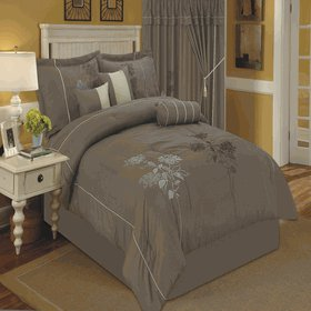 Tomahawk Moca 7-Piece comforter set King