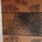 """Tiger Land"" 40x70 Egyptian Cotton Beach Towel"