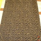 """Leopard"" 40x70 Egyptian cotton Beach Towel"
