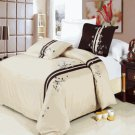 Samantha Egyptian cotton Embroidered Duvet Cover Set King/Cal King