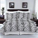 Zebra 100% Egyptian cotton Duvet cover set Full/Queen