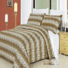 Cheetah 100% Egyptian cotton Duvet cover set Full/Queen