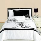 Huntington Embroidered Multi-Piece Duvet Set Egyptian Cotton Full/Queen