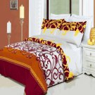 Mission Printed 4 pc Duvet Set Egyptian Cotton Full/Queen