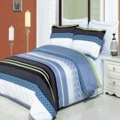 Jasmine Printed 3 pc Duvet Set Egyptian Cotton King/Cal King
