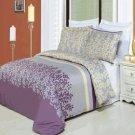 Brielle Printed 8 pc Duvet Set Egyptian Cotton Cal King