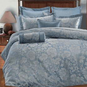 Brenda 7PC Duvet covers set by Royal Hotel Collections Full/Queen