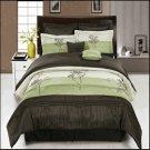 Portland Sage 8-Piece Comforter Set King