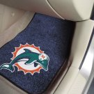 NFL - Miami Dolphins  2 pc Carpeted Floor mats