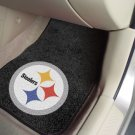 NFL  - Pittsburgh Steelers 2 pc Carpeted Car Truck Suv Floor mats