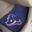 NFL -Houston Texans  2 pc Carpeted Floor mats