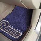 NFL St. Louis Rams 2 pc Carpeted Floor mats