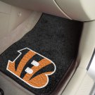 NFL Cincinnati Bengals 2 pc Carpeted Floor mats