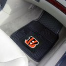 NFL - Cincinnati Bengals 2 pc Heavy Duty Vinyl Floor mats