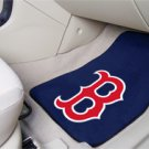 MLB Boston Red Sox 2 pc Carpeted Floor mats