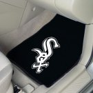 MLB Chicago White Sox 2 pc Carpeted Floor mats