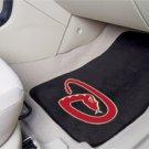 MLB- Arizona Diamondbacks 2 pc Carpeted Floor mats