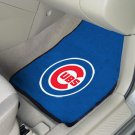 MLB- Chicago Cubs 2 pc Carpeted Floor mats