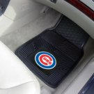 MLB-Chicago Cubs 2 pc Heavy Duty Vinyl Floor mats
