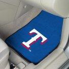 MLB- Texas Rangers 2 pc Carpeted Floor mats