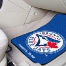 MLB- Toronto Blue Jays 2 pc Carpeted Floor mats