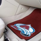 NHL-Colorado Avalanche 2 pc  Carpeted Floor mats