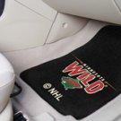 NHL-Minnesota Wild 2 pc Carpeted Floor mats