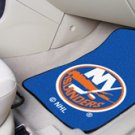 NHL-New York Islanders 2 pc Carpeted Floor mats