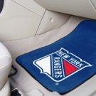 NHL-New York Rangers 2 pc Carpeted Floor mats