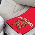 University of Maryland Carpeted 2 pc Floor mats