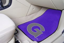 Georgetown University 2 pc Carpeted Floor mats