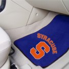 Syracuse University 2 pc Carpeted Floor mats