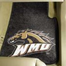 Western Michigan University  2 pc Carpeted Floor mats