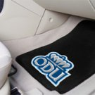 Old Dominion University ODU 2 pc Carpeted Floor mats
