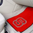 North Carolina State NCS 2 pc Carpeted Floor mats