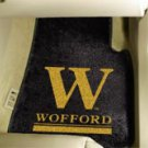 Wofford College 2 pc Carpeted Floor mats