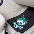 Georgia College & State University GCSU 2 pc Carpeted Floor mats