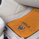 Mercer University  2 pc Carpeted Floor mats