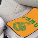 Florida A & M FAMU  2 pc Carpeted Floor mats