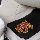 Florida State University FS Logo 2 pc Carpeted Floor mats