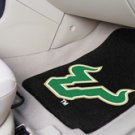 University of  South Florida  2 pc Carpeted Floor mats