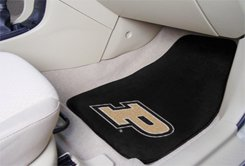 Purdue University 2 pc Carpeted Floor mats