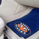 Auburn University AU Tigers 2 pc Carpeted Floor mats