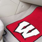 University of Wisconsin Badgers 2 pc Carpeted Floor mats